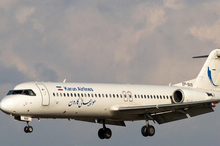 برقراری پرواز «آبادان-وان ترکیه» با هواپیمائی کارون