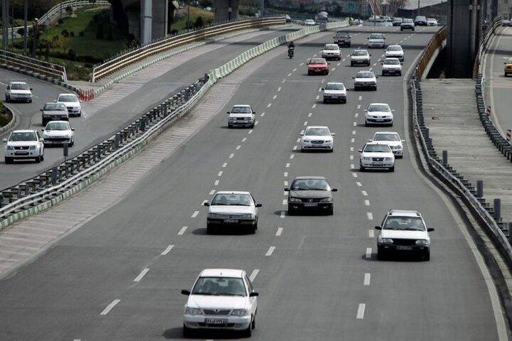 افزایش ۴۸ درصدی ترددهای جادهای نسبت به پارسال