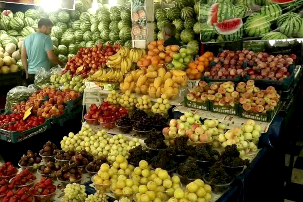 قیمت میوه و تره بار در ۱۹ خرداد ۱۴۰۰