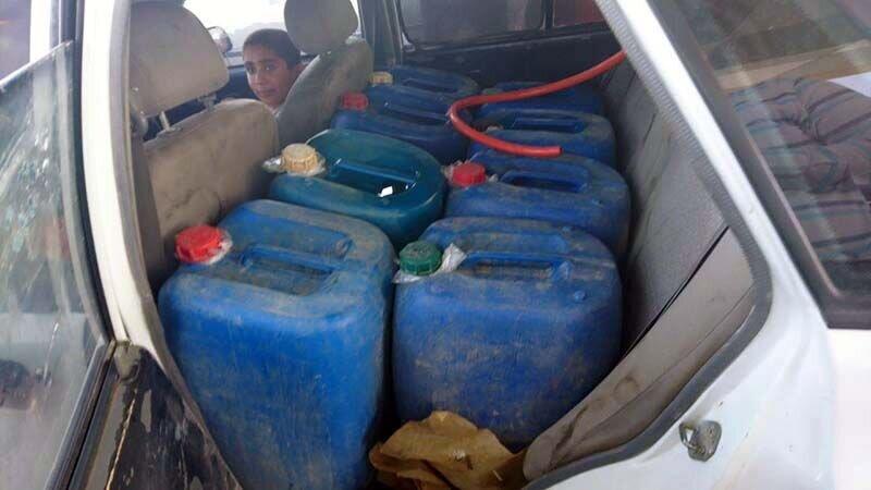 ۲۸ هزار لیتر سوخت قاچاق در زنجان کشف شد