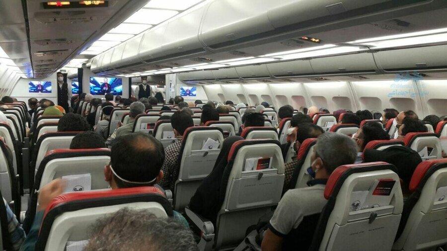تیک آف بهای بلیت اربعین؛ قیمت پرواز ۱۰ میلیون تومان| زور مجلس و وزارت راه به ایرلاین ها نمی رسد!