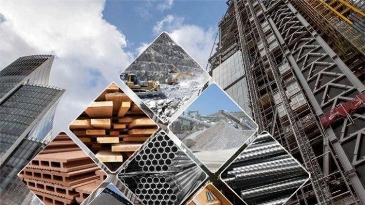 قیمت انواع مصالح ساختمانی در ۲۰ مهر ۱۴۰۰