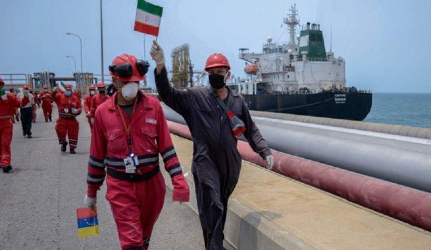 محموله جدید بنزین ایران در راه ونزوئلا