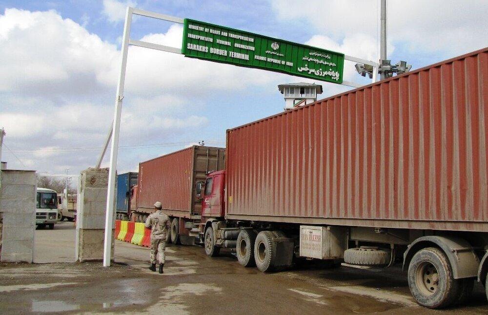 تبادل کالا با ترکمنستان در مرز لطف آباد با حفظ منافع ایران آغاز شد