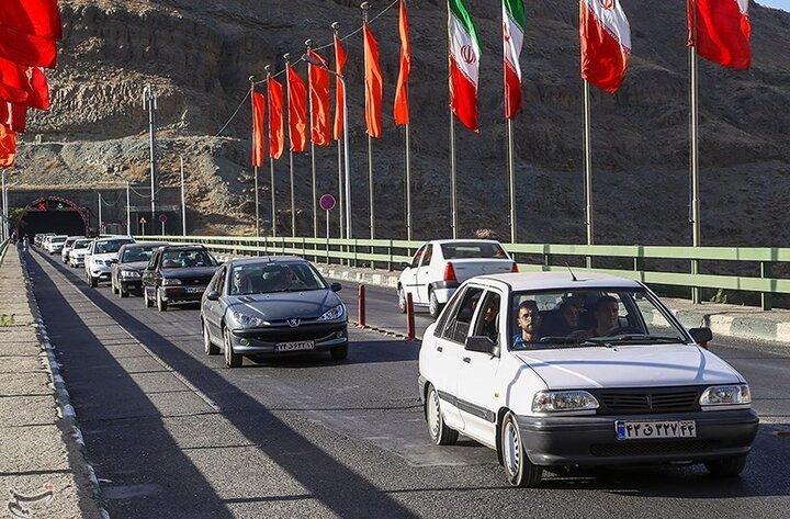 کاهش ۶.۸ درصدی تردد در جاده های کشور