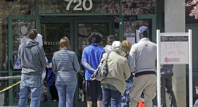 بیکاری در آمریکا همچنان بالا است