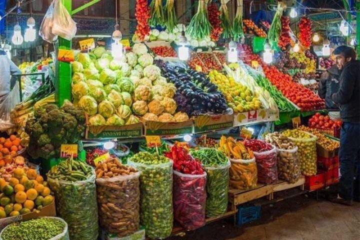 قیمت میوه و تره بار در چهارشنبه ۳۰ مهر ۹۹
