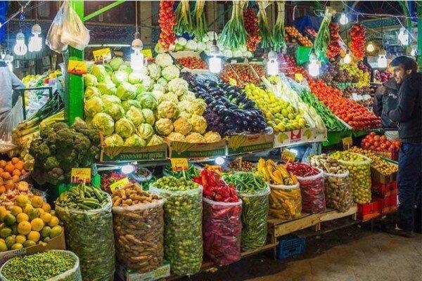 قیمت میوه و تره بار در دوشنبه ۱۰ آذر ۹۹