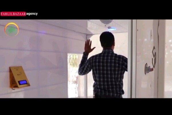 طراحی و ساخت کابین ضدعفونی کننده داخلی توسط فناوران کهگیلویه و بویراحمد