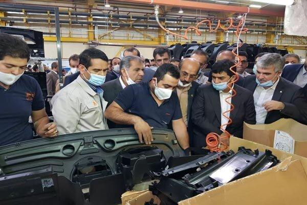 خط تولید کامیونت ایرانی شیلر در قزوین آغاز به کار کرد