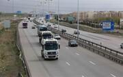 فرسودگی ناوگان حمل و نقل کالای قطب ارتباطی کشور  قزوین در شاهراه ارتباطی