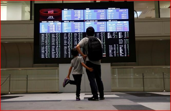 جهش بازارهای سهام آسیایی