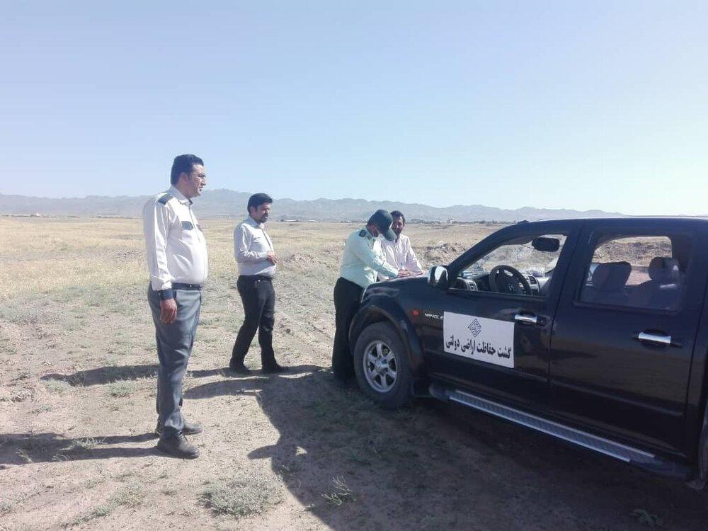 ۱۳ هزار و ۵۸۸ متر مربع از اراضی ملی و دولتی در بیرجند رفع تصرف شد
