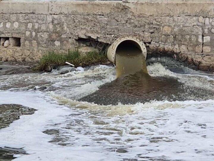 هدایت فاضلاب مسکن مهر آذرشهر به کانال های آب