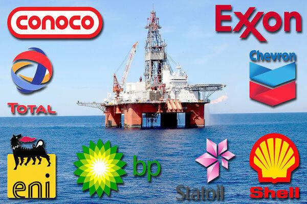 کاهش ۲۵ درصدی ذخایر نفت شرکتهای بزرگ نفتی