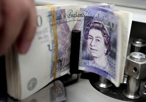 استقراض دولت انگلیس در ۳ ماهه نخست به رکورد ۱۲۸میلیارد پوند رسید