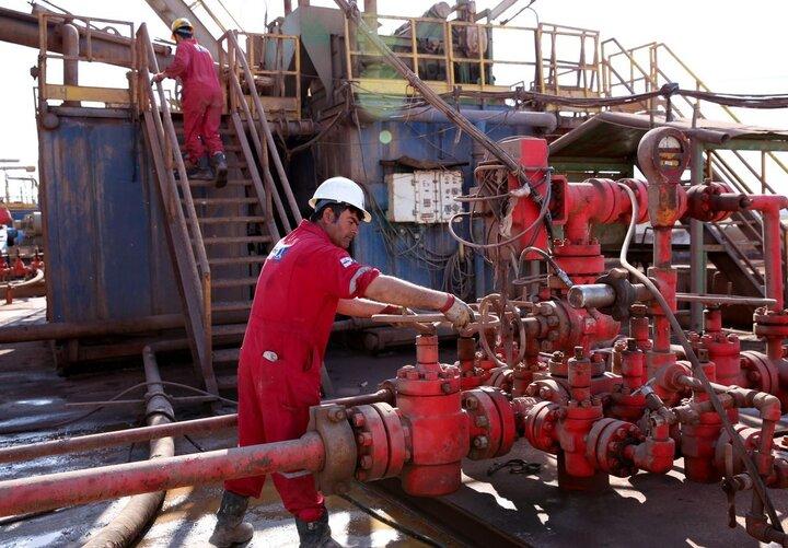 حفر ۸۲ حلقه چاه نفت و گاز در ۸ ماه امسال