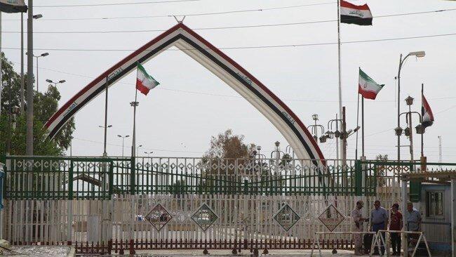 ترانزیت کالا از ۵ مرز عراق ادامه دارد