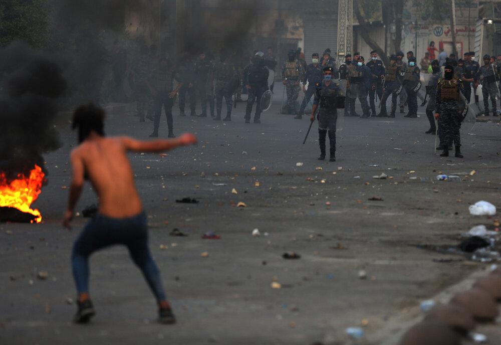 اعتراضات علیه عملکرد دولت در عراق