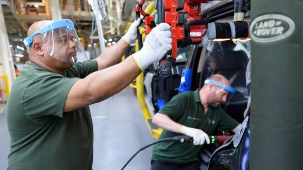 کاهش تولید خودرو در انگلیس