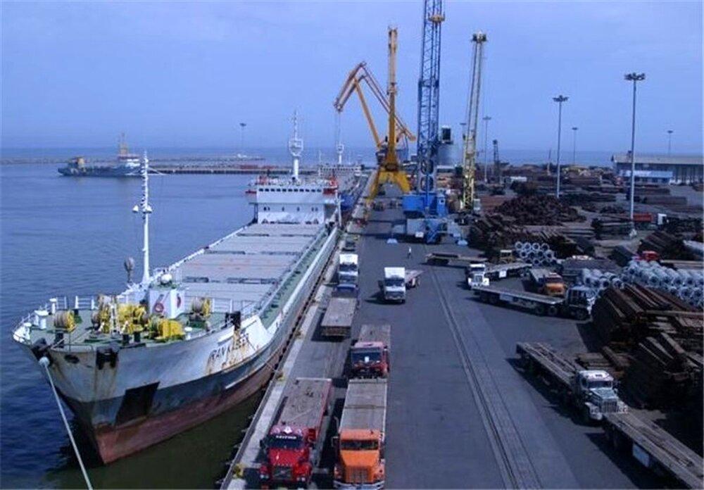 انجام عملیات بندری ۵۷۷ هزار تن کالا در مازندران