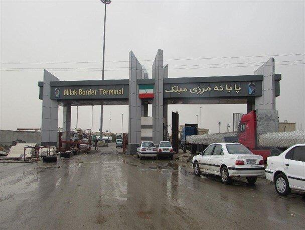 مرز میلک مجددا توسط رانندگان افغانستانی بسته شد
