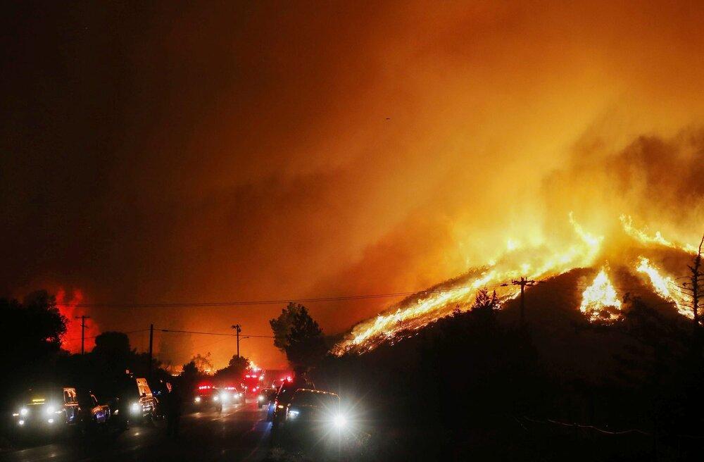 آتش سوزی گسترده در لس آنجلس