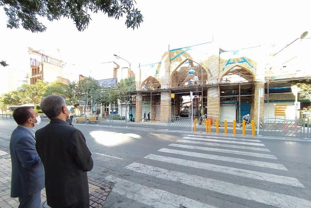 فصل دوم مرمت و احیای بازار تاریخی «سرشور» مشهد در دستور کار قرار گرفت