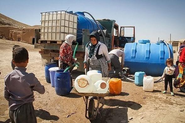 آبرسانی سیار به ۳۲ روستای استان همدان در فروردین ماه سال جاری