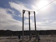 پروژه احداث پست ۶۳.۲۰ کیلوولت صنعتی سرخه اجرا شد