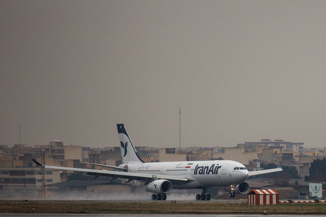 ۳ پرواز فوق العاده ایران ایر به ایتالیا