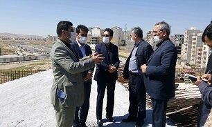 بازدید رئیس امور پایش سازمان برنامه و بودجه از پروژههای عمرانی اردبیل