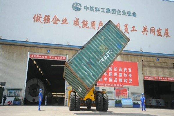 ساخت لیفتراکهای پرقدرت صنعتی در چین