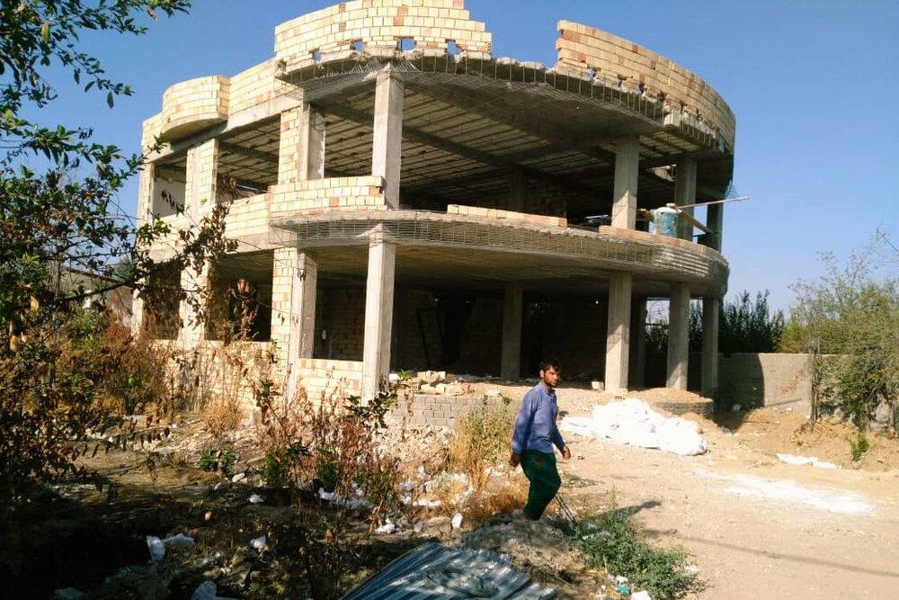 قلع و قمع ۴۰۰ مورد از ساخت وسازهای غیرمجاز در اراضی آذربایجان شرقی