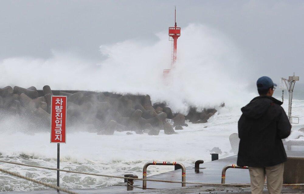 طوفان مایساک در کره جنوبی