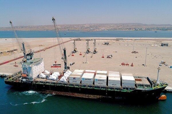 رشد چشمگیر واردات کالا به بزرگترین بندر اقیانوسی ایران/ پهلوگیری کشتی ۶۸هزار تنی در چابهار