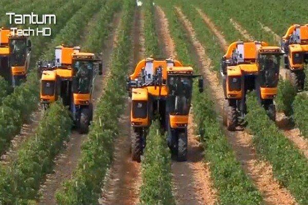 پیشرفتهایی که تکنولوژی در اختیار کشاورزان قرار میدهد