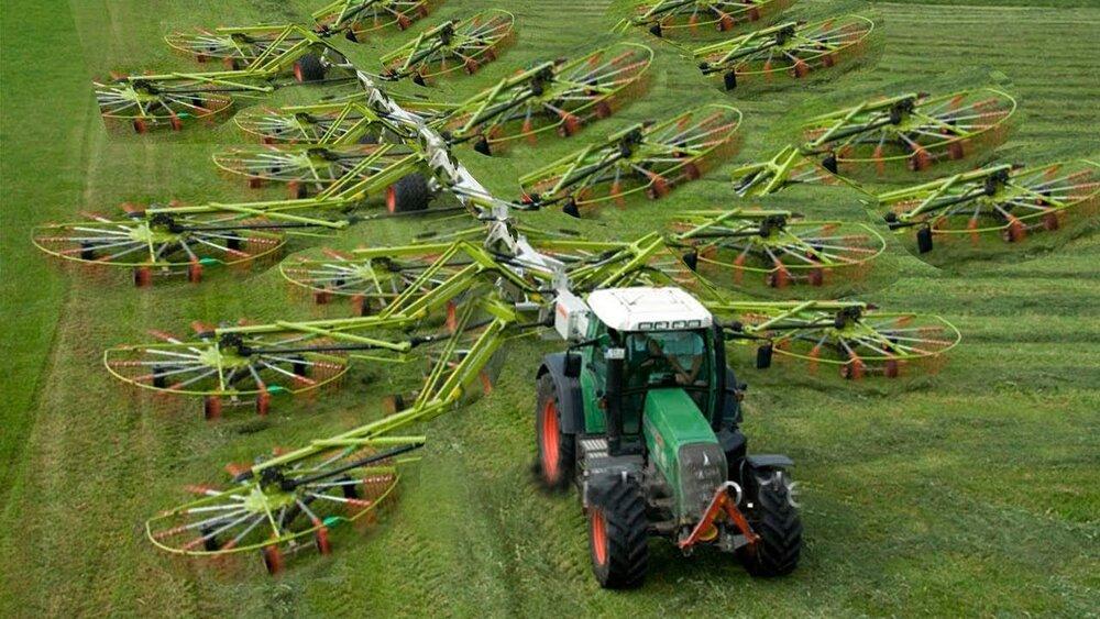 رشد سالانه ۶ درصدی صنعت تجهیزات کشاورزی  با افزایش جمعیت در جهان