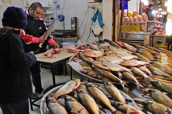 قیمت انواع ماهی در ۲ بهمن ۱۳۹۹