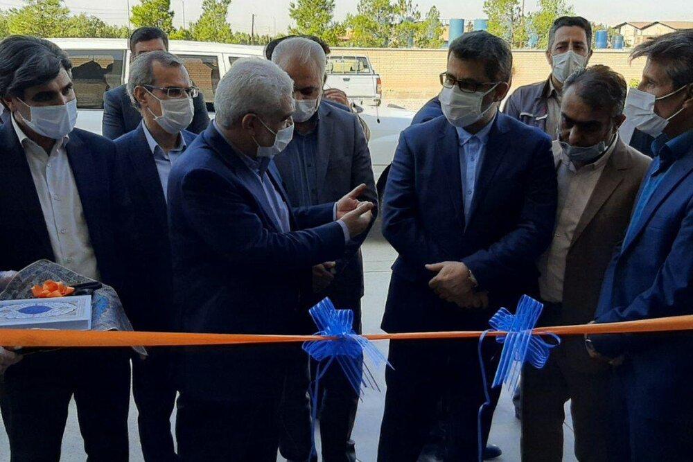 شرکت صنعتی گیتی تأمین صنعت در سمنان افتتاح شد