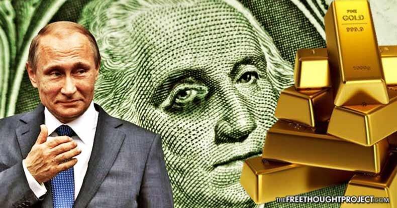 روسیه به ذخیره سازی طلا با هدف کاهشنفوذ دلار ادامه می دهد/ ذخایر فارکس به بالاترین حد خود رسید