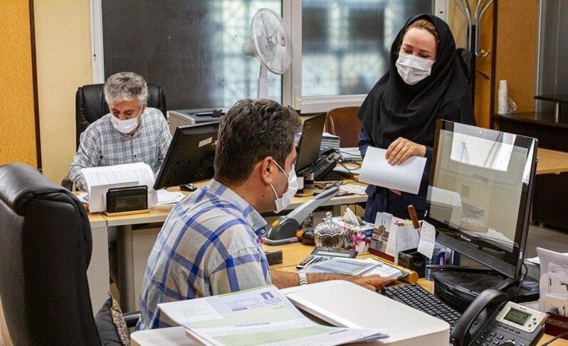 دستورالعمل نحوه حضور کارمندان و فعالیت ادارات کرمان در ۳ وضعیت هشدار