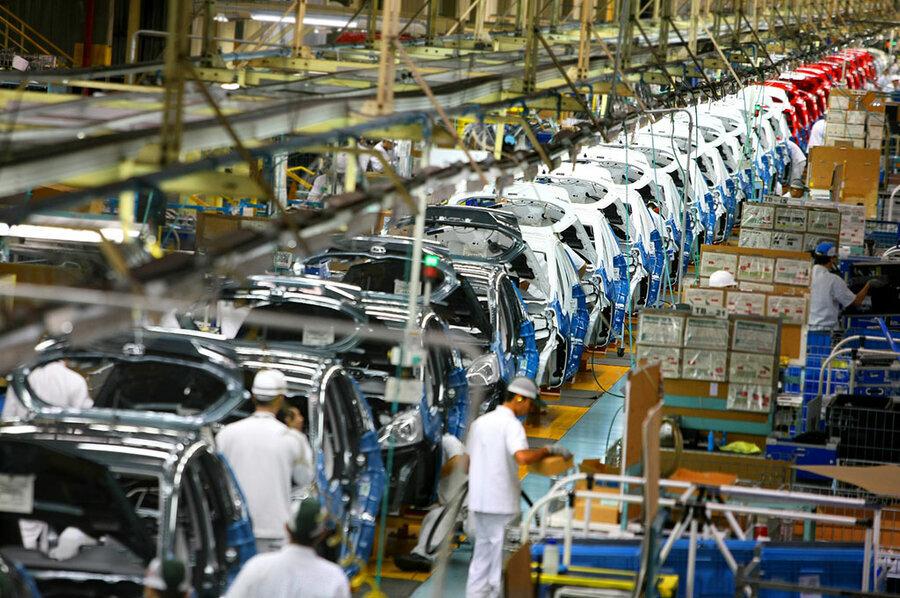 کاهش ارزبری ۱۳۸ میلیون یورویی تولید در ایران خودرو