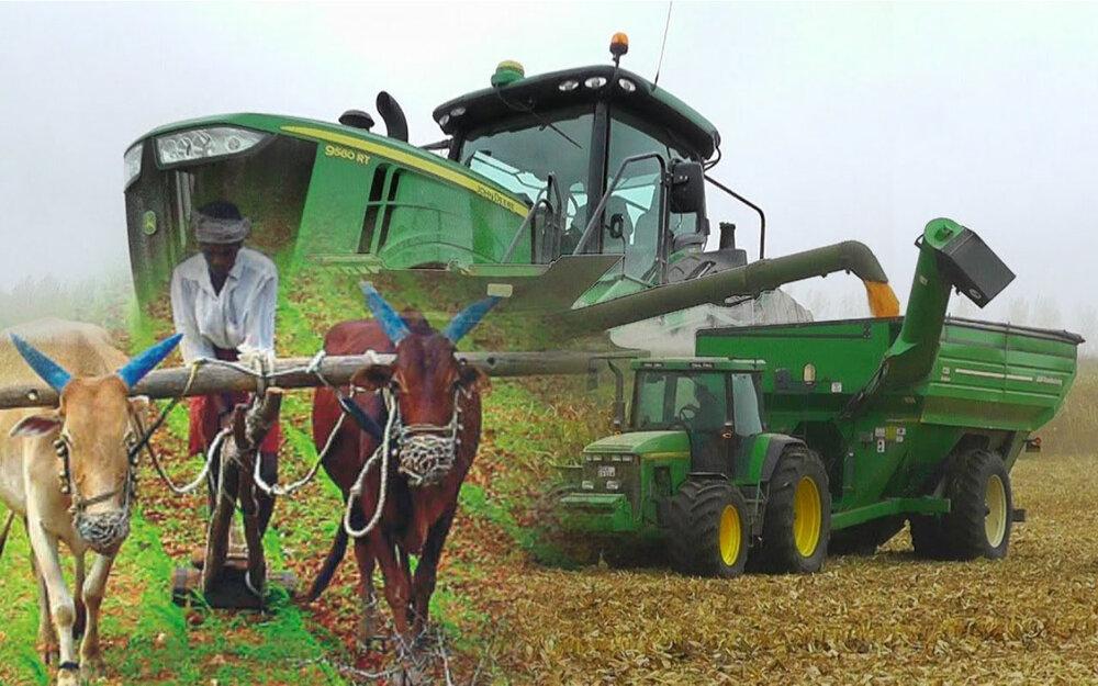 عذاب در کشاورزی با  خشکسالی دانش و تکنولوژی