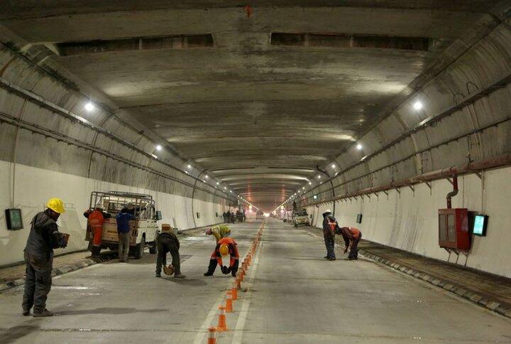 عملیات لاینینگ تونل دوم راه کربلا در محور «ایلام- مهران» آغاز شد