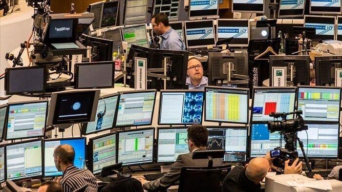 سیر نوسانی ارزش سهام در بازارهای بورس اروپا