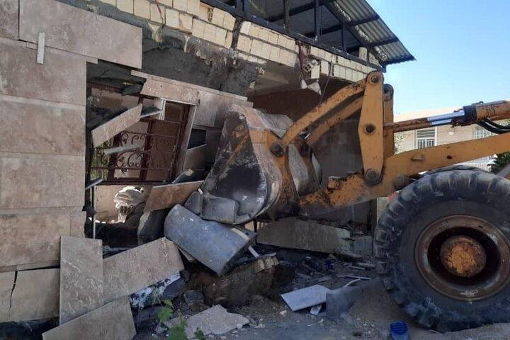 ۳۱ فقره ساخت و ساز غیرمجاز در اراضی کشاورزی استان قزوین تخریب شد