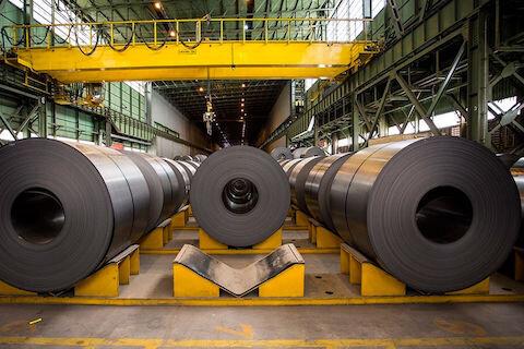 زنجیره تولید فولاد در کرمان تکمیل می شود