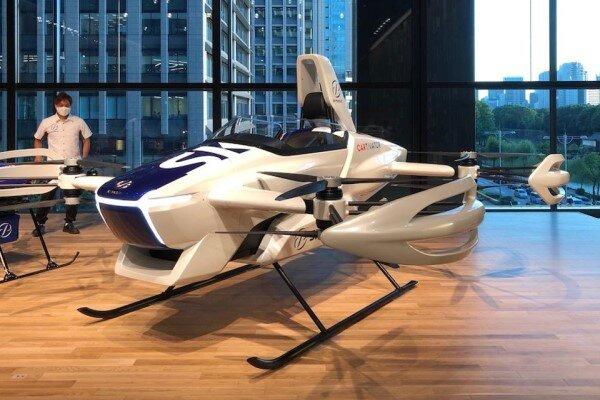 آزمایش موفقیت آمیز اولین خودروی پرنده ژاپنی