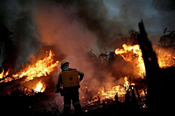 آتش سوزی آمازون 2